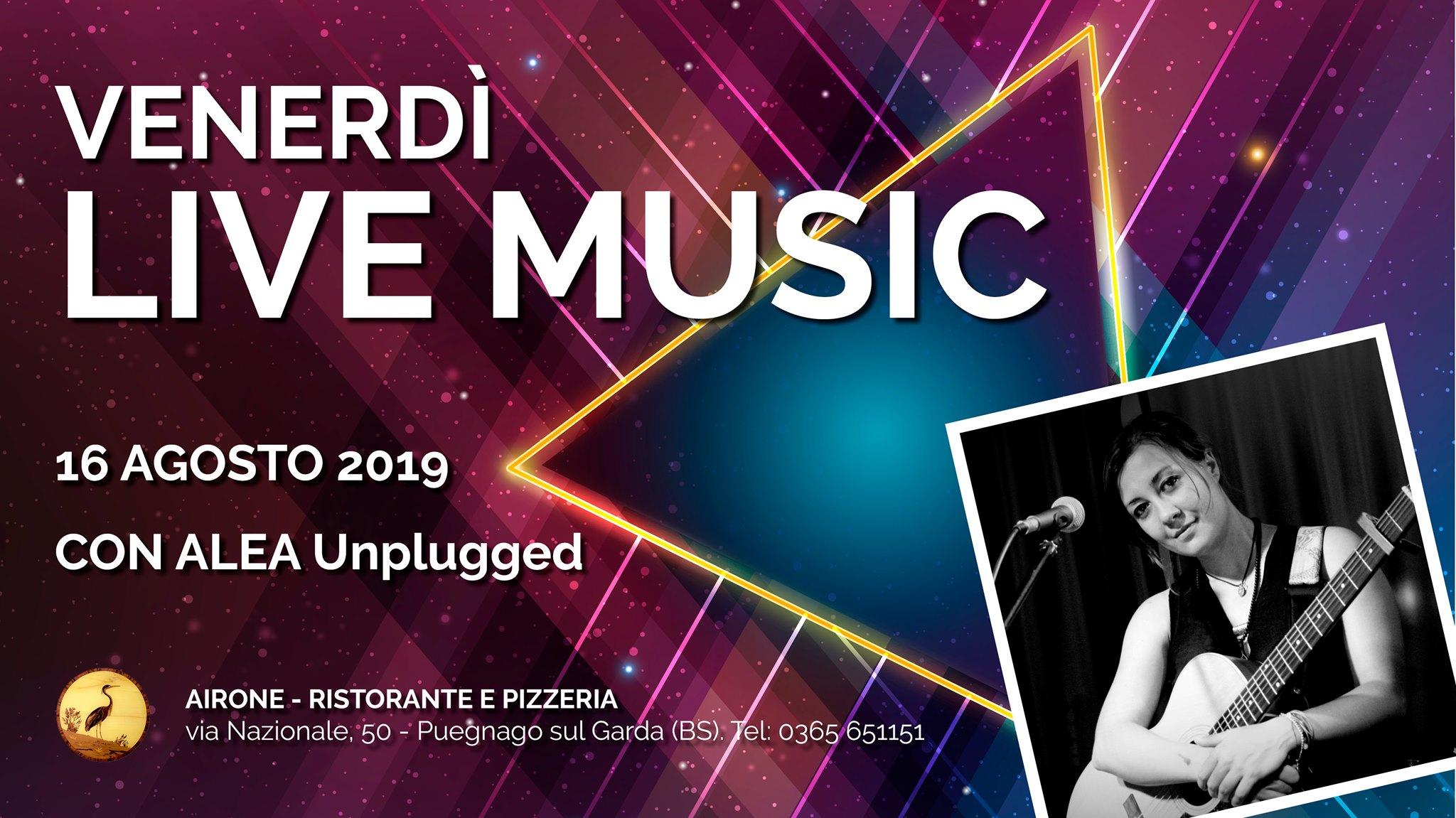 2019.08.16 Alea Unplugged - Airone Lago di Garda