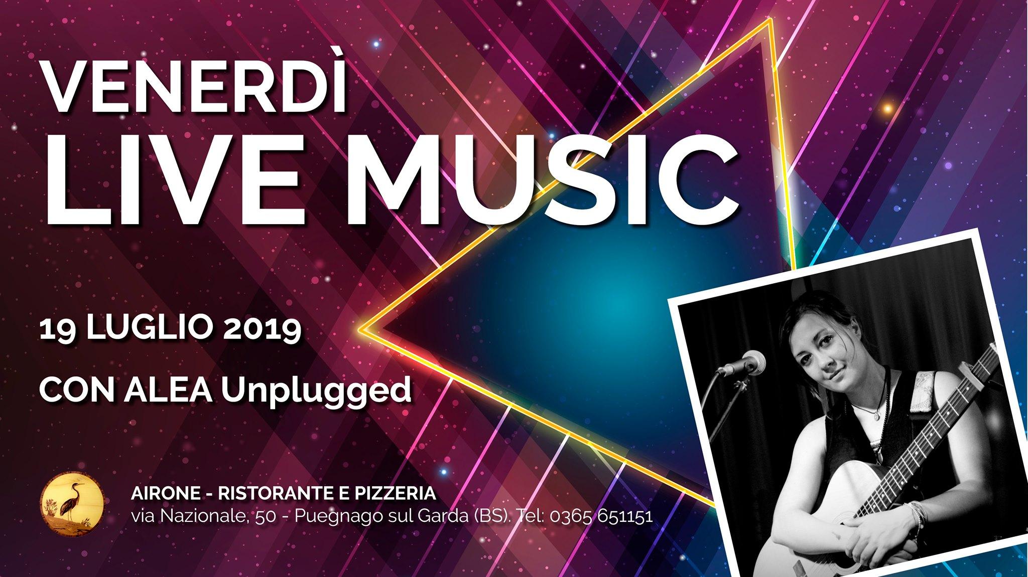 2019.07.19 Alea Unplugged - Airone Lago di Garda